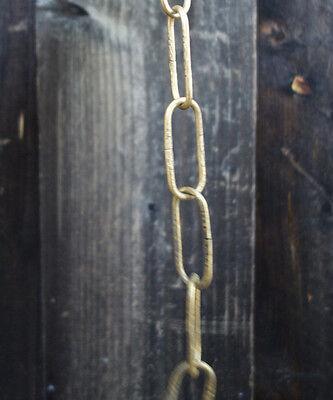 "20 links - 36"" Brass plt ornate chain for Vintage hanging lamp chandelier part 2"
