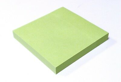 """Pastel Colours Remove It Sticky Post Notes Pads 76mm x 76mm 3x3"""" 12 packs of 100"""