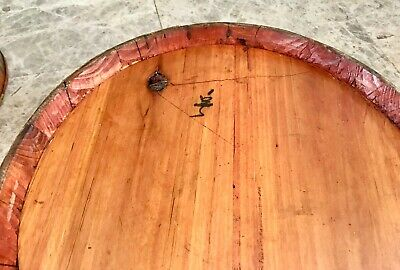 "Antique 21"" Chinese Bamboo and Wood 1858 Wedding Basket with Chinese Lady 5"