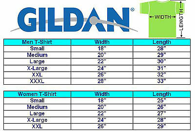 Gildan T-SHIRT blank plain tee S - 5XL Small Big Men's Cotton Premium Quality 2