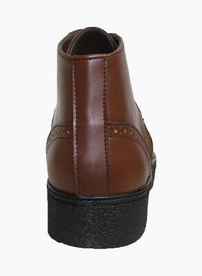 British Style Playboy WingTip Mens Leather Shoes  Black 5613