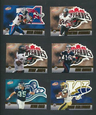 2003 CFL Pacific Atomic Gold Variant  Lot of 18 Serial Numbered Dickenson, Simon 3