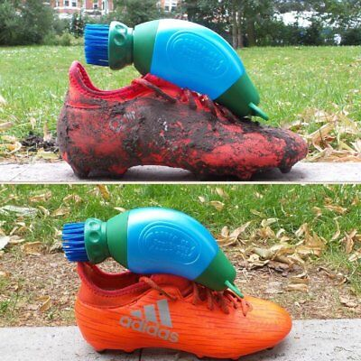 Football Boot Buddy Cleaner Shoe Brush Washer Wellington Rugby Hiking Golf Mud 4