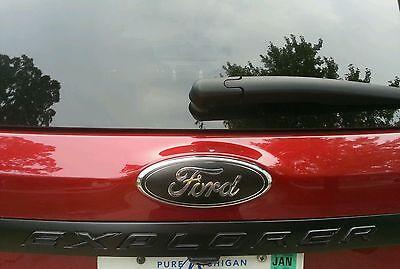 "2011-2014 Ford Edge Gloss black 9/"" grill /& 7/"" lift gate emblems 3D"