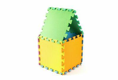 Kids Children PlayMats Soft Foam Interlocking Play Mats Outdoor Activity 9 Pc 8