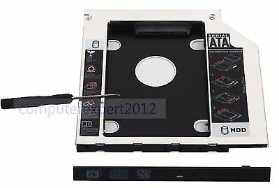 2nd HDD SSD Hard Drive Caddy for Toshiba Satellite L75 S75-A7140 S75-A7221 B7396