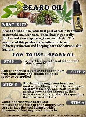 Best Beard Oil for Growth & Conditioning for a Thicker, Fuller and Softer Beard.