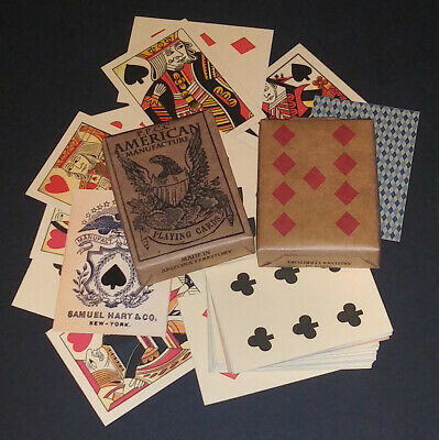 Faro Playing Cards of the Old West & Civil War Faro - Pharo - Poker 2