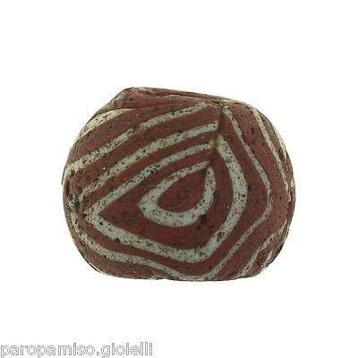 Early Islamic Glass Bead  -  (0428) 4