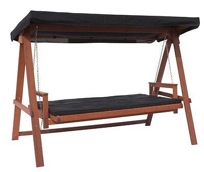 hollywoodschaukel bahama liege bett funktion auflage dach meranti gartenm bel eur 405 00. Black Bedroom Furniture Sets. Home Design Ideas