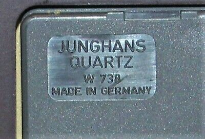 Vintage JUNGHANS Quartz Montreux Reese's Hershey Clock - Made In Germany 7