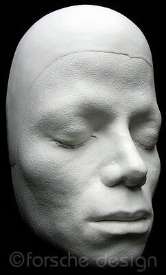 Michael Jackson Life Mask/Cast From Thriller Video, Sculptor William Forsche 4