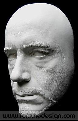 Robert Downey Jr Tony Stark Iron Man Life Mask Lifecast Hot Toys 3