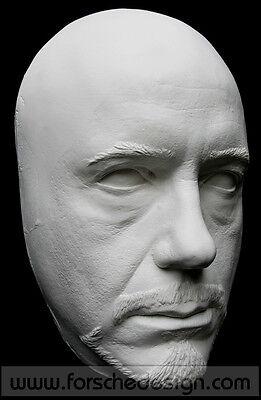 Robert Downey Jr Tony Stark Iron Man Life Mask Lifecast Hot Toys 5