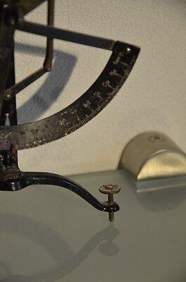 Waage, antik, Briefwaage, höhenverstellbar, aus Sammlungsauflösung, vgl. Fotos! 2