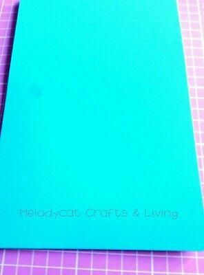 A5 Craft Scrapbook Cutting Mat Board Self Healing 22.5cm x 15cm Aqua