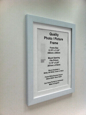 "Gold Photo Picture 19mm Frame 9x9/"" 9x10/"" 9x11/"" 9x12/"" 9x13/"" 9x14-26/"" Mount Glass"