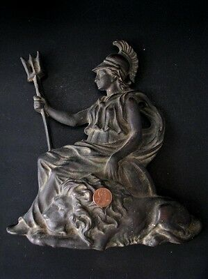 Beautiful Old Very Rare Antique Bronze Athena Hard to Find Please see 5 Photo* 5