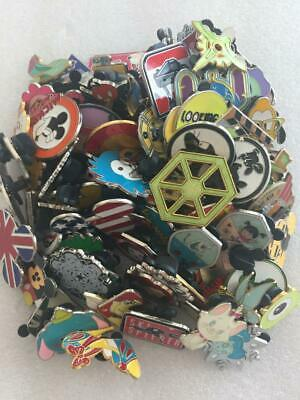 Disney Trading Pins 50 Lot No Doubles Hidden Mickey Limited Edition - Free Ship 2