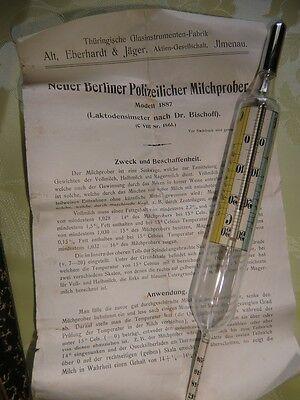 """Antiker Milchprober von 1887 """" Absolute Rarität , Top in Ordnung 2"""