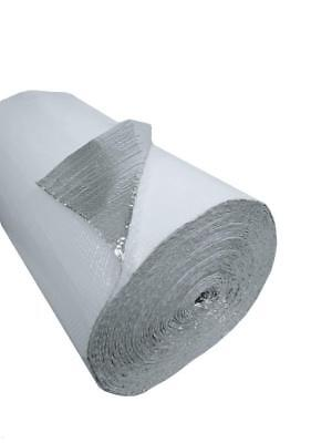 48 In. X 125 Ft White Single Reflective Bubble Insulation Radiant Barrier 500sft 4