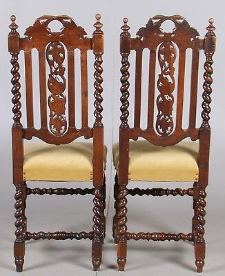 PAIR  ANTIQUES CHAIRS  Perfect condition 4