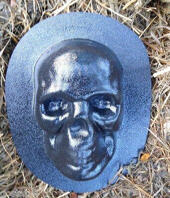 """Zombie plastic mold plaster concrete mould 5.5/"""" x 4.5/"""" x 1.5/"""""""
