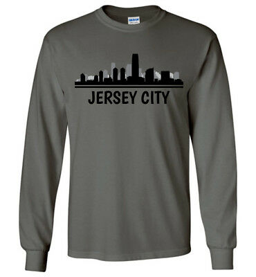 Men Women Youth Tank Long Sleeve Personalized Tee Atlantic City Skyline T-Shirt