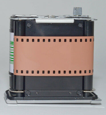 35mm to 120 film adapter - to use 35mm film in medium format cameras -Hasselblad 3