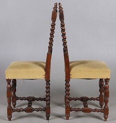 PAIR  ANTIQUES CHAIRS  Perfect condition 3