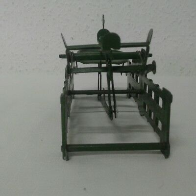 antike alte Balkenwaage Schwanenhalswaage Kaufmannsladen Blechspielzeug Waage 8