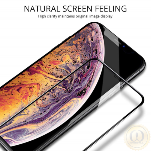 For iPhone 11 Pro X XR XS Max Caseswill Premium Tempered Glass Screen Protector 4