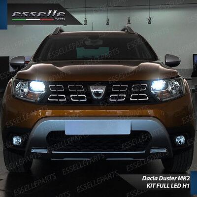 Conversione Fari Full Led Dacia Duster Mk2 6000K Xenon Led Canbus Bianco 6400 Lm 3