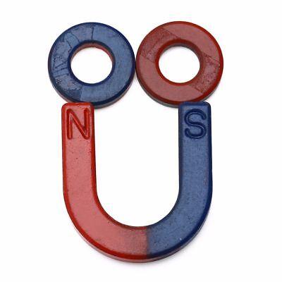 8PCS netter U geformter Hufeisen Magnet Installationssatz verwendbar für Kinder 3