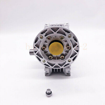 NMRV040 Worm Gearbox Gear Reducer 71B14 Ratio 10//20/25/30/40/50/60/80/100:1 3