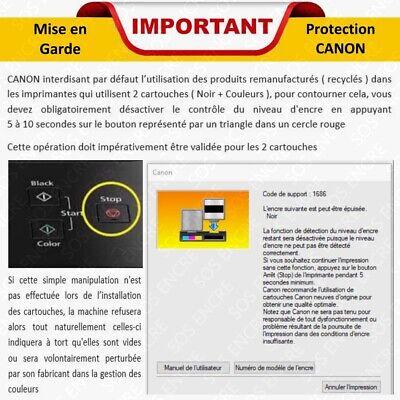 SOS ENCRE - Cartouches d'encre compatibles Canon 512 et 513 XL : Pixma IP MP MX 3