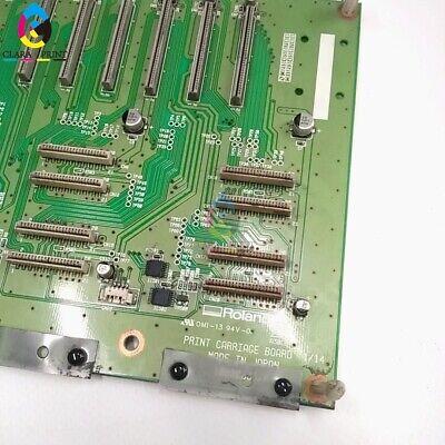 USED Roland XJ-540/XJ-640/XJ-740 Assy, Print Carriage Board - W700731310 4