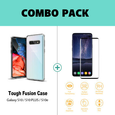 Samsung Galaxy S10 5G S10e S9 S8 Plus Case Clear Heavy Duty Shockproof Cover 12