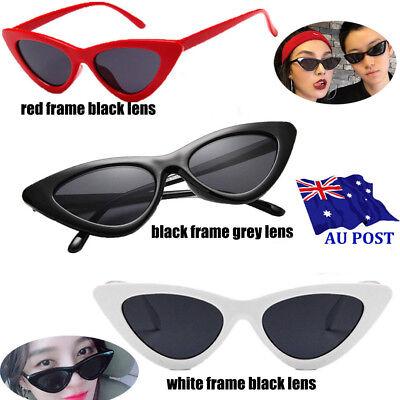 Hot Unisex Womens Mens Retro Vintage Cat Eye Round Glasses Fashion Sunglasses OW