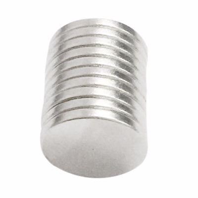 12x1mm 10-100tlg N52 Starke Scheibe Runde Magneten Rare Earth Neodym magnet 4