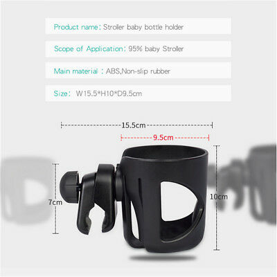 Baby Stroller Pram Cup Holder Universal Bottle Drink Water Coffee Bike Bag BO
