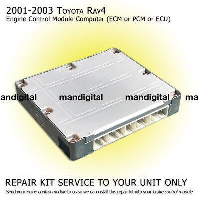 2001 2002 2003 TOYOTA RAV4 Engine Computer Module PCM ECM ECU Repair Service