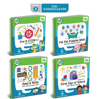 Leapfrog LeapStart Books - Complete Library Level 1 to 4 (age 2-7 years) 3