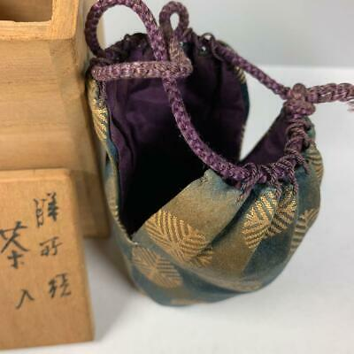 Tea Caddy Ceremony Chaire Sado Japanese Traditional Crafts t589 9