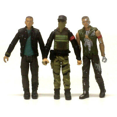 Lot 3Pcs TERMINATOR SALVATION JOHN CONNOR Marcus Playmates toy 2009 Figure toys 2
