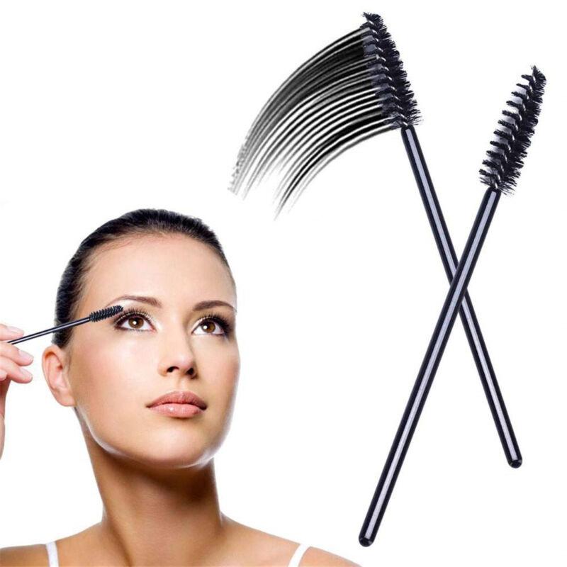 50/500/1000pcs Disposable Mascara Wands Eyelash Brush Applicator Extension AU 2