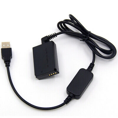 LP-E12 power charger cable ACK-E12+DR-E12 dummy battery for Canon EOS M M50 M10 3