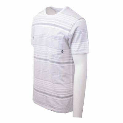Vans Off The Wall Men's White Striped Climbed-J S/S Tee S02 (Retail $34) 2