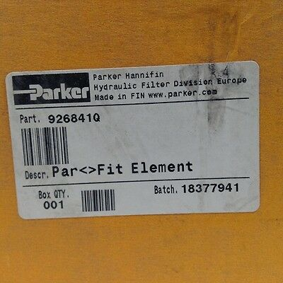 Parker 926841Q Hydraulic Filter Element 6 Micron 290psid NFP 5