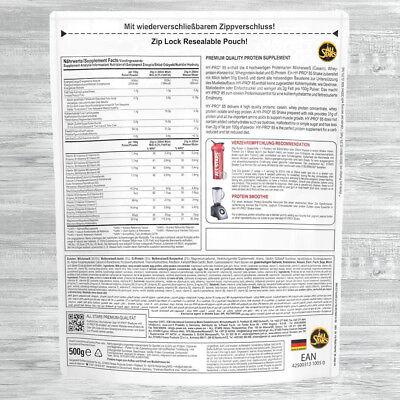 All Stars HY-PRO 85 und Deluxe Protein 500g Beutel  AllStars Eiweiss ALLE SORTEN